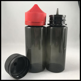China Black Unicorn Dropper Bottles 120ml For Vapor Liquid Non - Toxic Health And Safety supplier