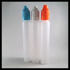 China Empty 30ml Unicorn Bottle Bulk , Food Grade PE Translucent Unicorn Drip Bottle supplier