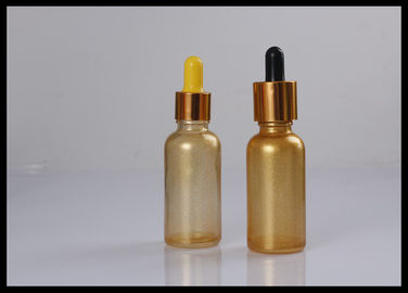 China Custom 30ml Dark Glass Dropper Bottles For Cosmetic Packaging Medical Grade supplier