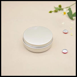 China Screw Cap Aluminum Cosmetic Tins 60g Cream Makeup Face Mask Eyeshadow Case Durable supplier
