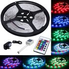 China 5m Length Color Changing LED Strip Lights 300 LEDs SMD 3528 With Remote Control company