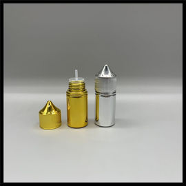 China Metallic Silver Gold Unicorn Bottle Chubby Gorilla E Juice Container 30ml Capacity factory