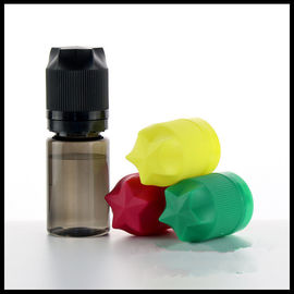 Gorilla New Design Vape Bottles 30ml Black Transparent Color Star Type Cap