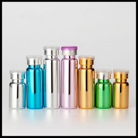 China Pharmaceutical Cosmetic Tubular Glass Bottle Metallic Vials Recyclable Material factory
