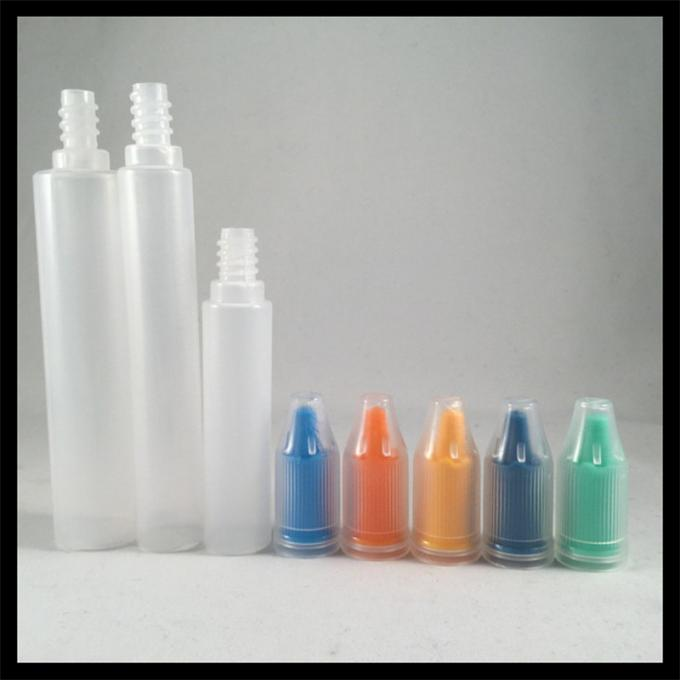 Childproof Cap Unicorn Dropper Bottles Transparent Screen Printing For E Liquid