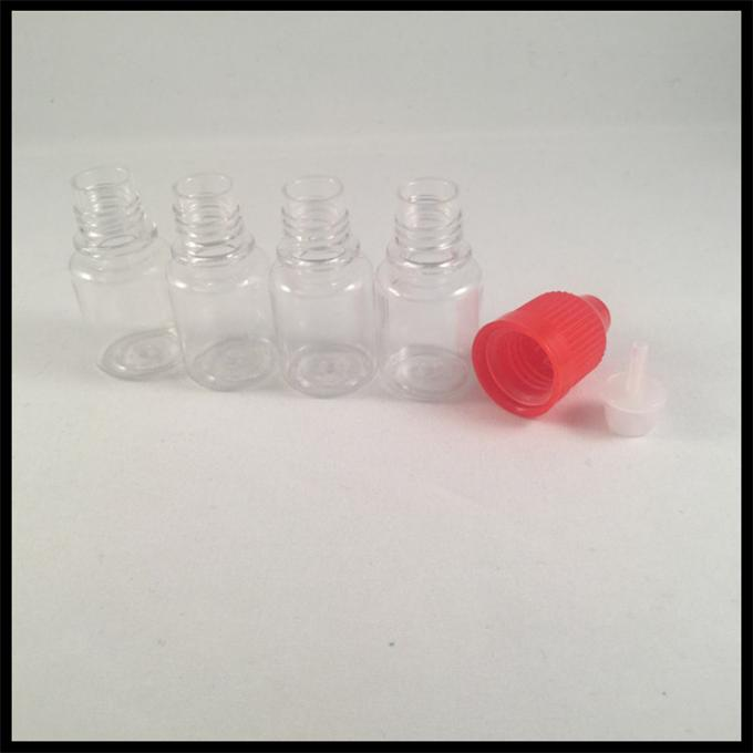 Medicial Grade Plastic Eye Dropper Bottles , PET 5ml Plastic Dropper Bottles