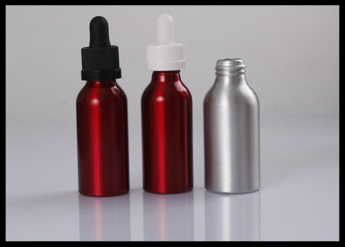 High Standard Bulk Essential Oil Bottles , Red / Amber Glass Bottles For Essential Oils