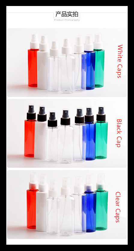 Perfume Pump Plastic Spray Bottles 120ml Small And Portable Health And Safety