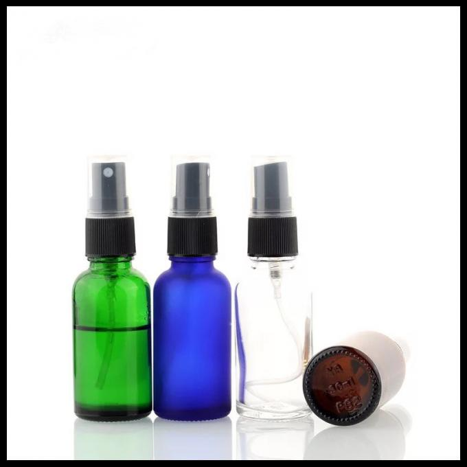30ml Essential Oil Glass Dropper Bottle With Green / Clear / Amber / Blue Color