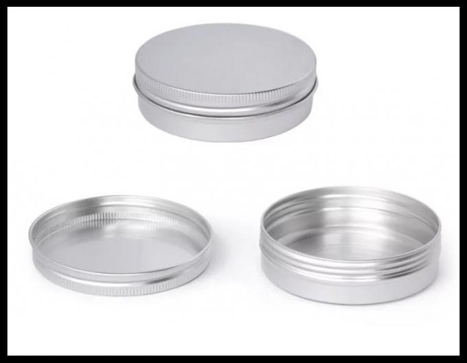 100g Window Aluminum Cosmetic Containers Jewelry Powder Box Tea Candy Food Jar