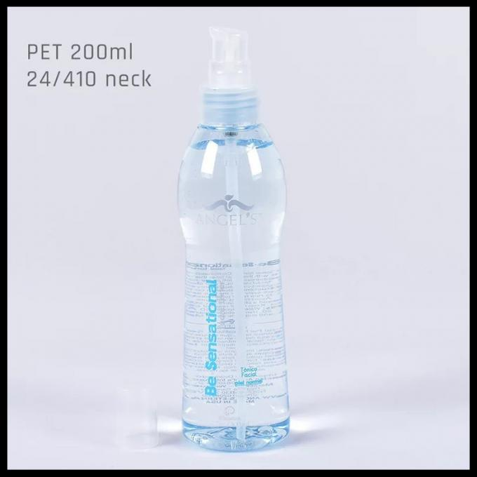 PET 200ml Bottle Cosmetic Plastic Spray Bottle Gel Bottle Lotion Pump