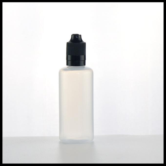 60ml PE Plastic Bottles With Childproof Tamper Evident Cap Dropper Bottles
